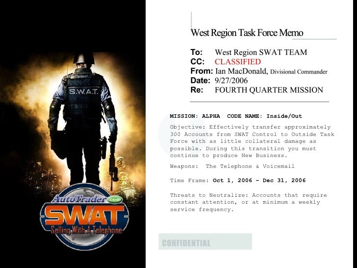 SWAT team dating site
