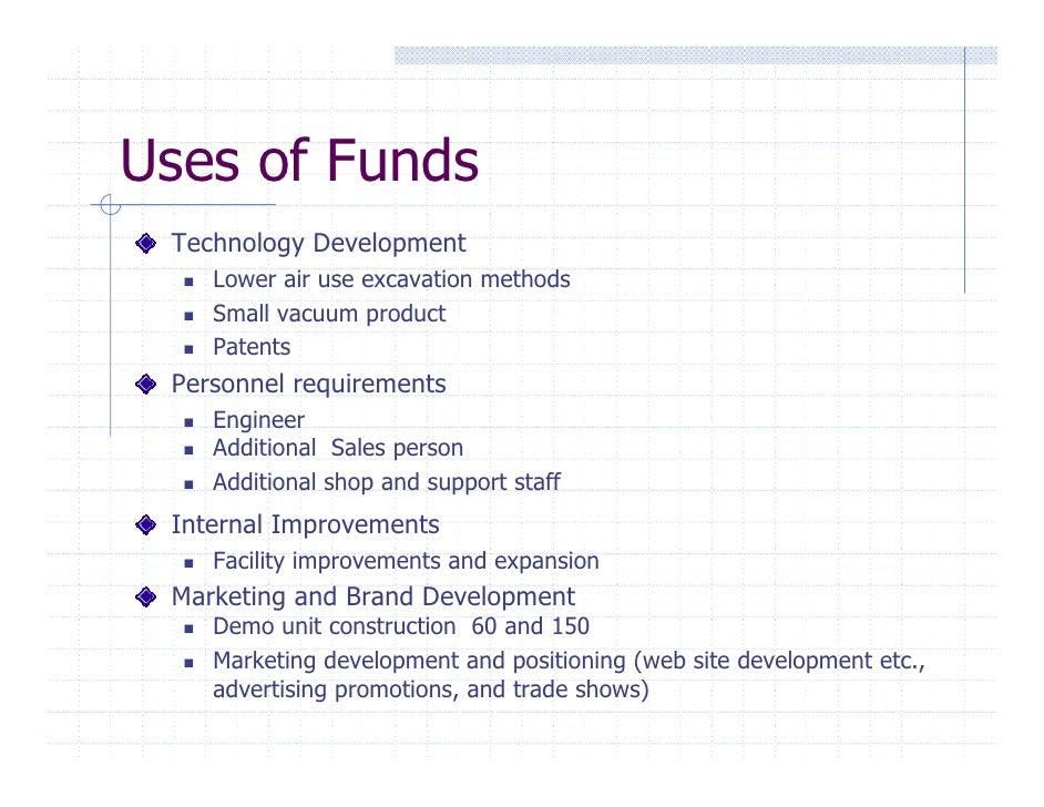development requirements business plan