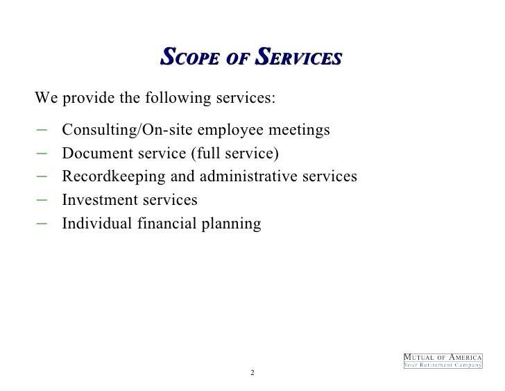 Sample Full Service Proposal