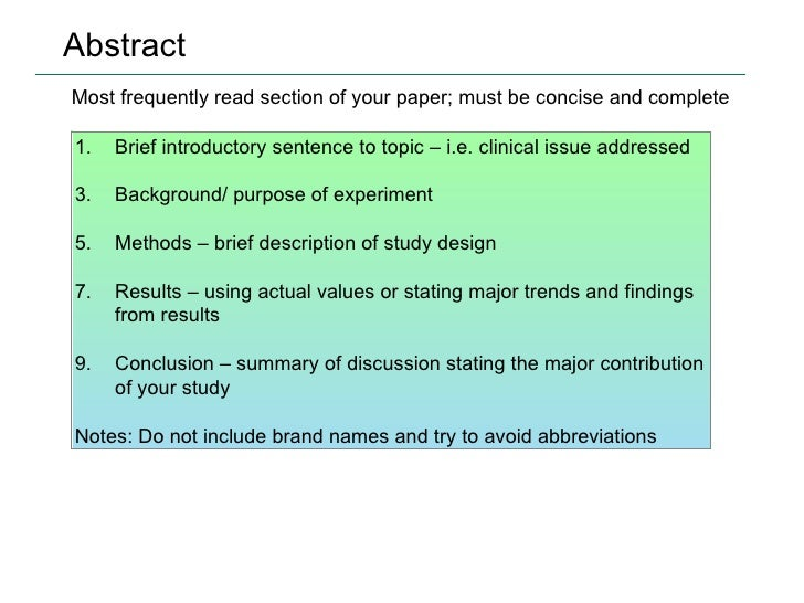 What Does Abstract Mean In An Essay - image 4