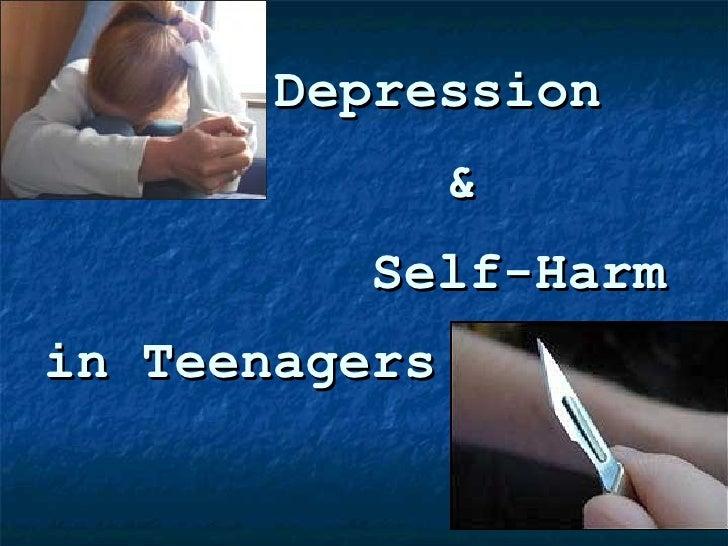 in Teenagers Depression & Self-Harm