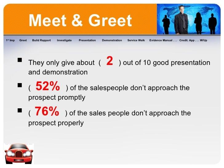 Selling process meet greet meet greet m4hsunfo