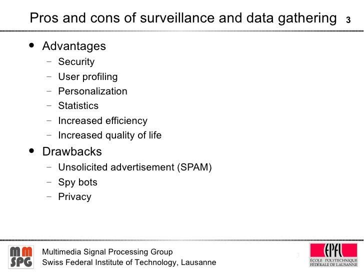 Cons for computer internet surveillance