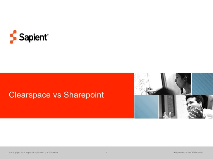 Clearspace vs Sharepoint