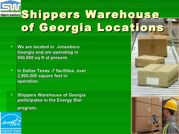 Shippers Warehouse Of Georgia 2008 2009 1 2