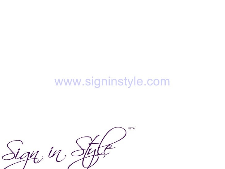 www.signinstyle.com