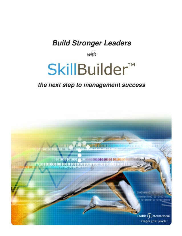 with Build Stronger Leaders the next step to management success