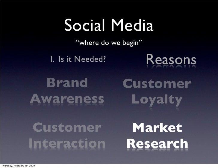 """Social Media                                      """"where do we begin""""                                                     ..."""
