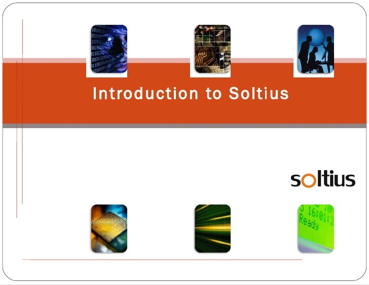 Introduction to Soltius