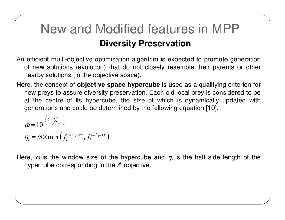 multi objective optimization thesis This thesis addresses these considerations through multi-objective optimization and uncertainty analysis the resulting analysis gives insight into the effects of designing for evolvability we show that there is a limit to the value added by increasing evolvability.