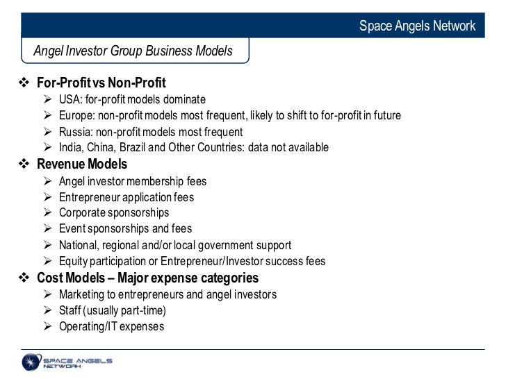 The Global Angel Investing Sector: Status and Prospects