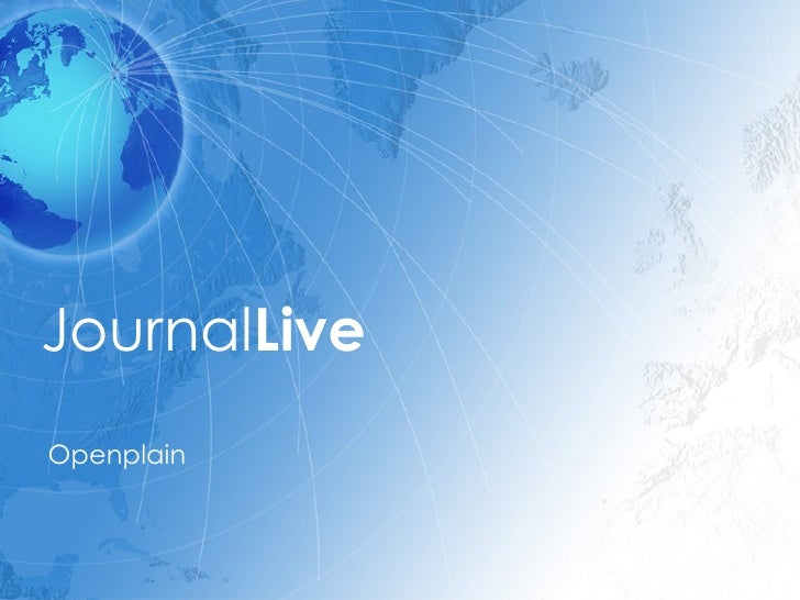 Journal Live Openplain