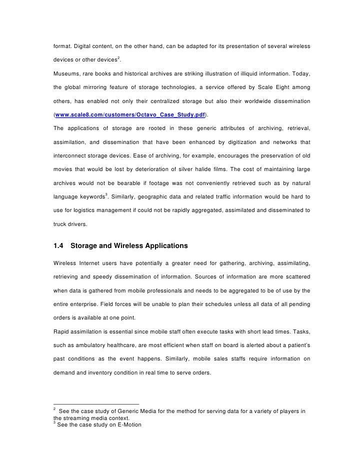 storage area network seminar report pdf
