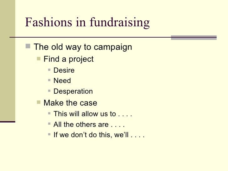 Strategic Fundraising Slide 2