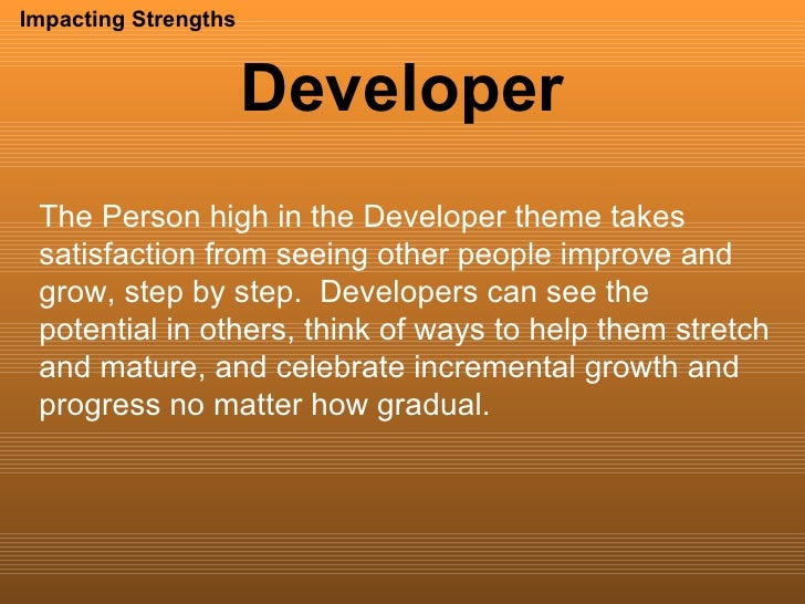 strengths of a person
