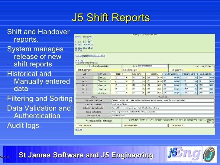 Summary Technical Presentation General