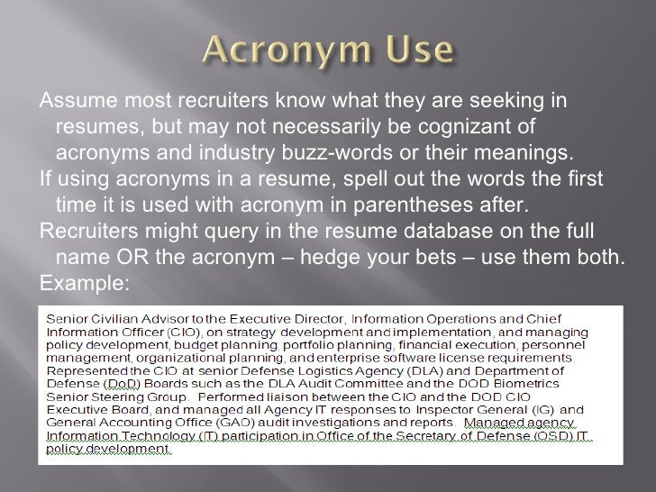 tips to getting your resume noticed in elec databases