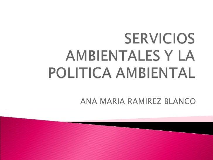 ANA MARIA RAMIREZ BLANCO