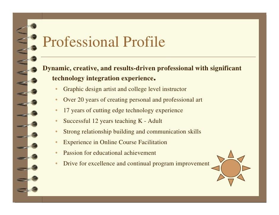 Teaching Portfolio M Devine 2008