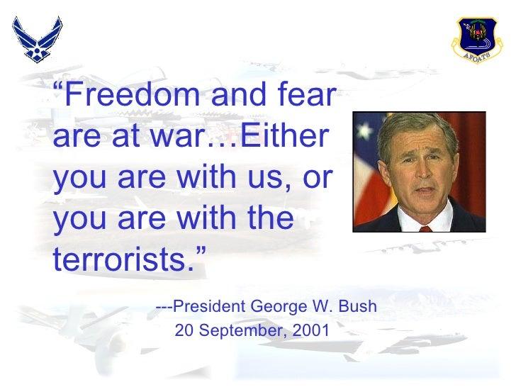 Terrorism,Peace & Love. Slide 2