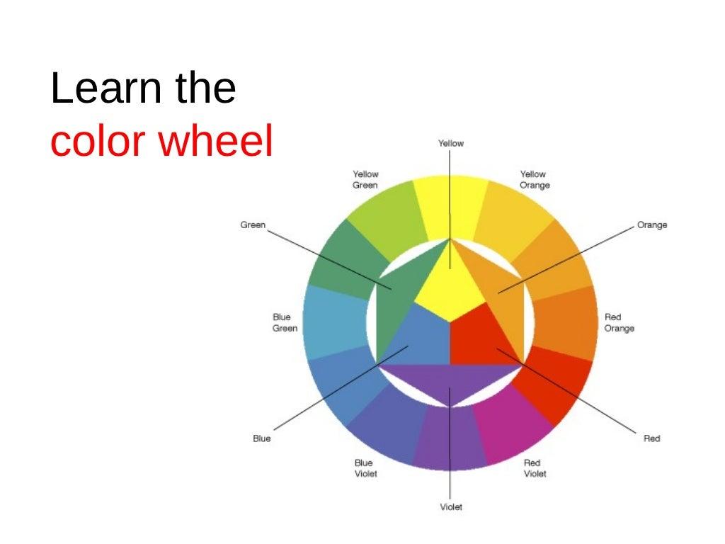 learn the color wheel. Black Bedroom Furniture Sets. Home Design Ideas