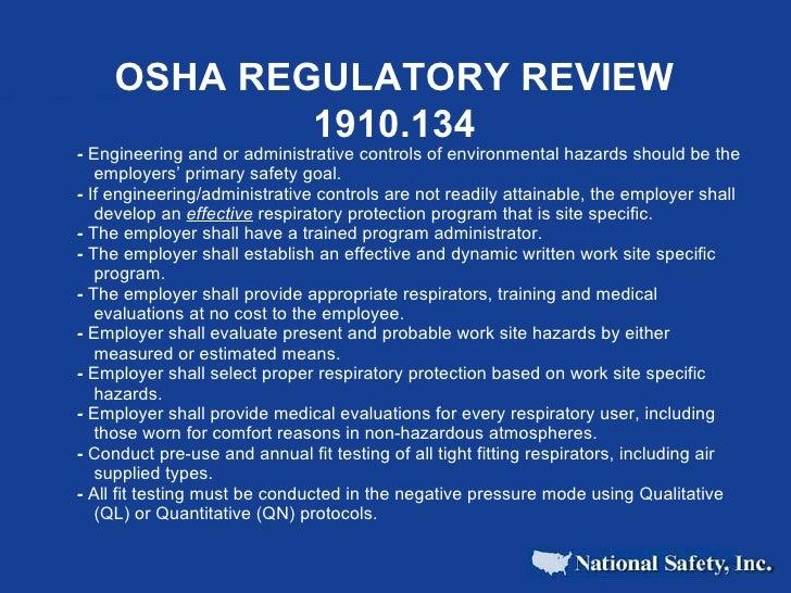 The Basics Of Respiratory Protection Slide 3