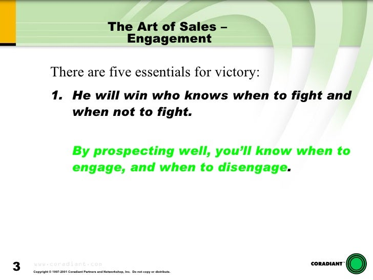 The Key To Technical Selling Slide 3