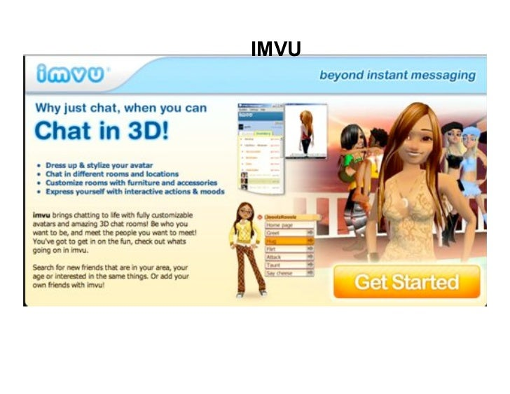imvu website sign up