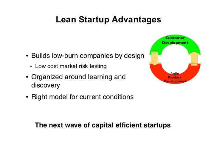 Lean Startup Advantages                                           Customer                                          Develo...
