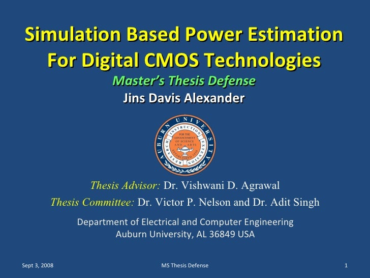Simulation master thesis