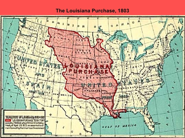 Thomas Jefferson Purchased The Louisiana Territory From France