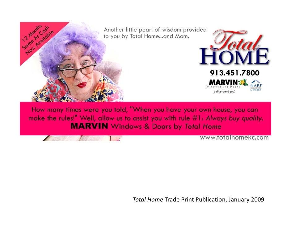 TotalHomeTrade PrintPublication,January2009