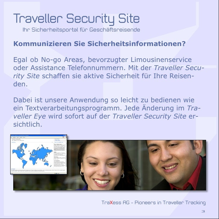 Traxess Traveller Security Solutions Slide 3