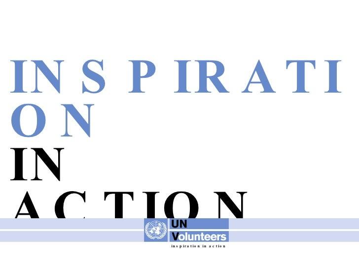 INSPIRATION IN ACTION inspiration in action