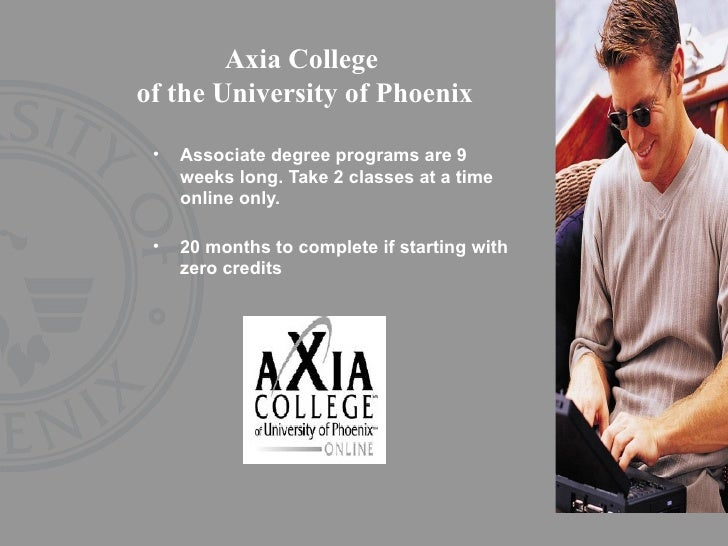 axia college university of phoenix The university did not confirm the number of campuses to the new times but said  that it was  a university of phoenix official told inside higher ed tuesday  morning that there  confessions of a community college dean.