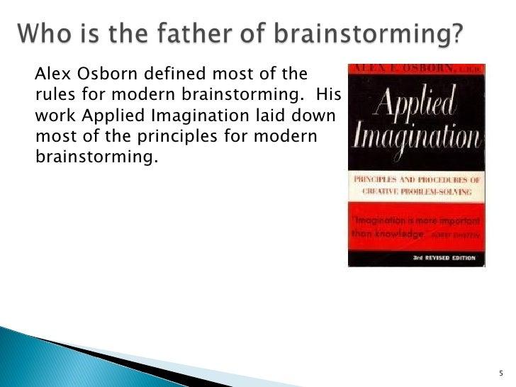 alex osborn applied imagination pdf