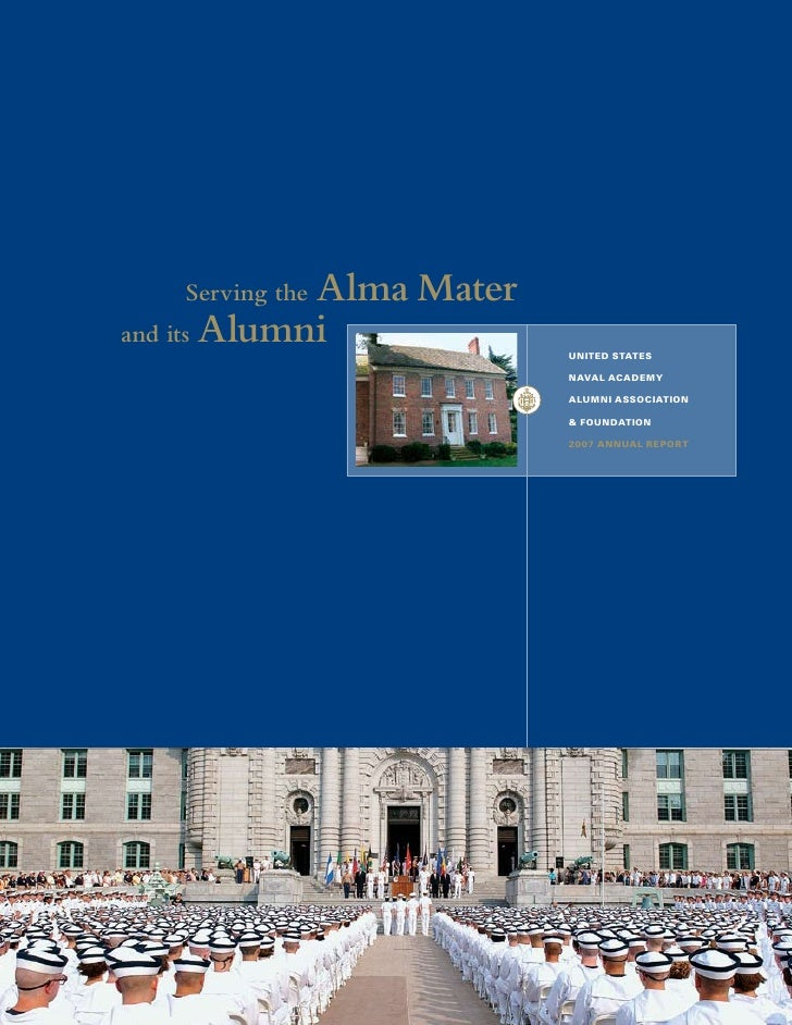 Alma Mater    Serving the and its Alumni                           United StateS                            naval academy ...