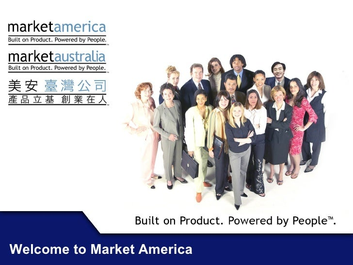 Welcome to Market America