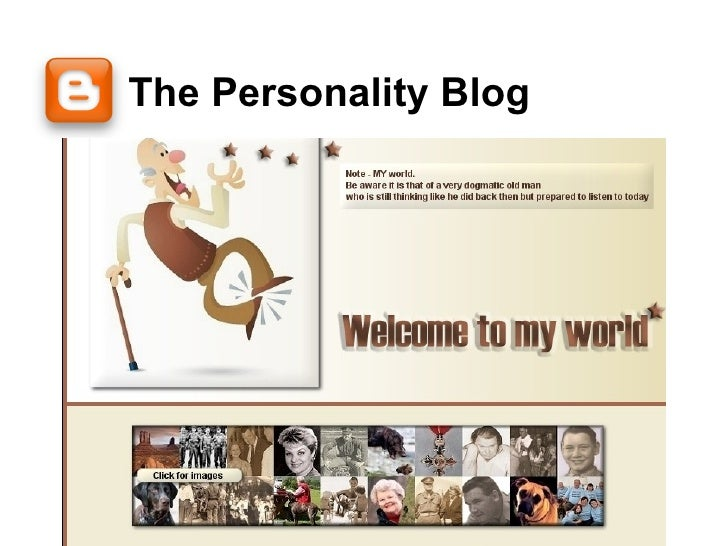 The Personality Blog