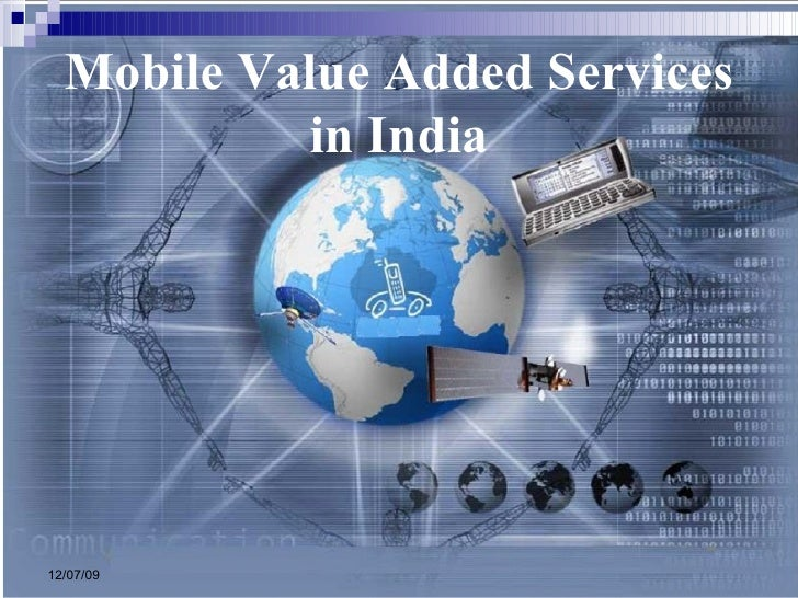 Mobile Value Added Services in India