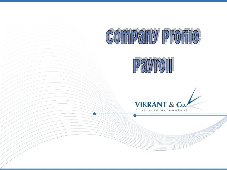 Company Profile Payroll