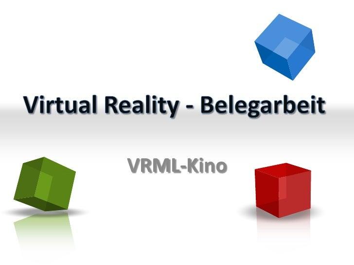 VRML-Kino