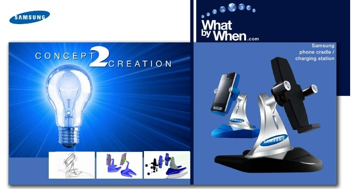 Samsung  phone cradle / charging station