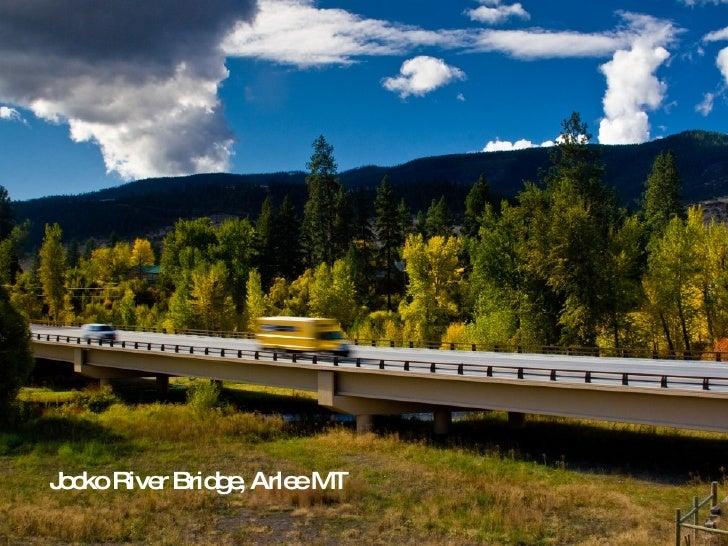 Jocko River Bridge, Arlee MT