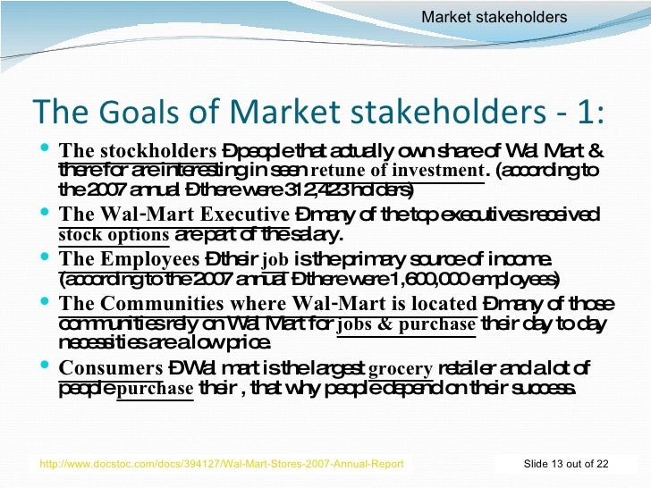 market analysis wal mart Wal-mart, the world's largest retailer, announced it will exit the german market after eight years of failing to become a viable force in one of europe's toughest retail markets.