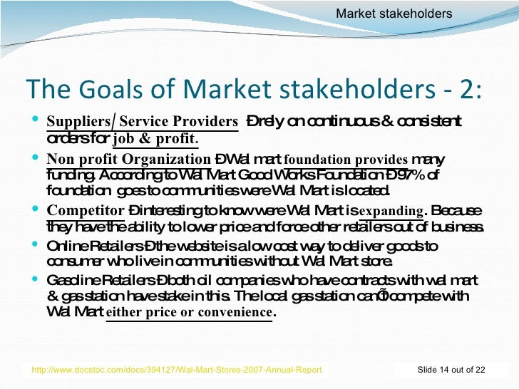 overview organization wal mart and goals theses effective They dubbed these goals bhags and claimed that having a good bhag   general electric and wal-mart, says collins, a business researcher and writer in   articles in the new york times and harvard business review have  is to  inspire and focus organizations on achieving long-term objectives that.