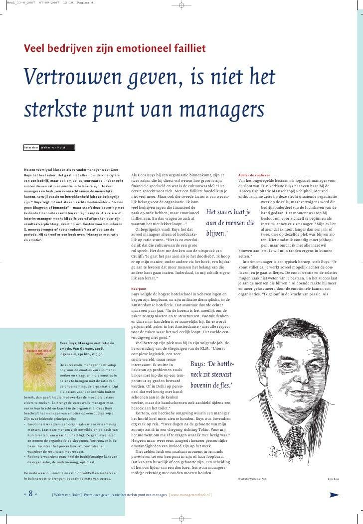 MenL_13-8_2007   07-09-2007      12:18     Pagina 8             Veel bedrijven zijn emotioneel failliet          Vertrouwe...