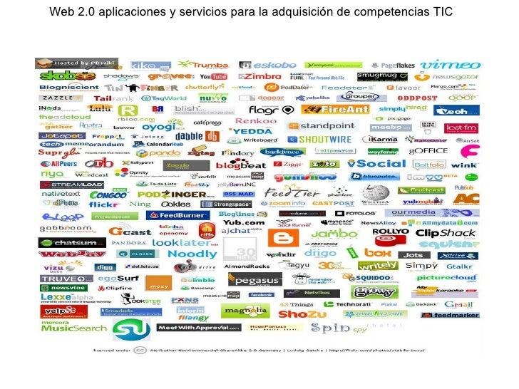 Web 2.0 aplicaciones y servicios para la adquisición de competencias TIC