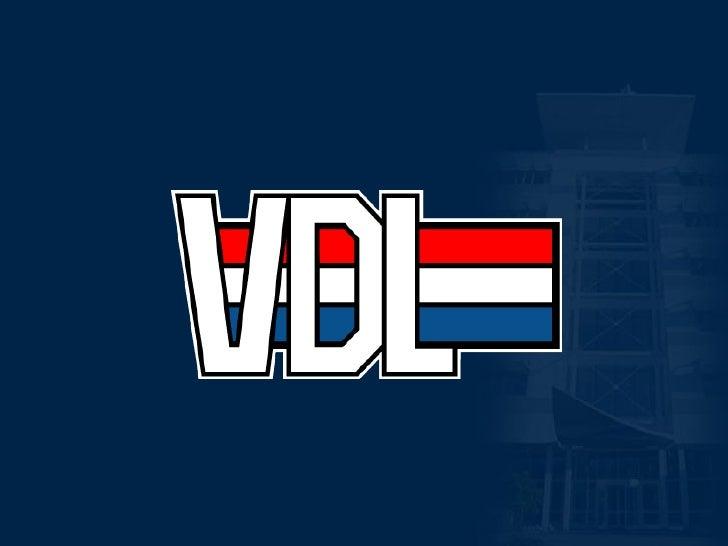 1   17-11-08   Algemene presentatie VDL Groep