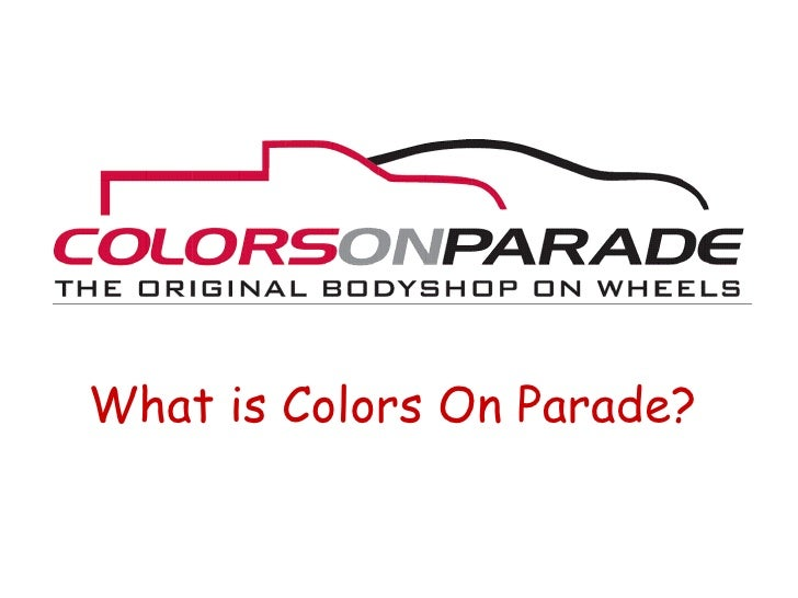 What is Colors On Parade?